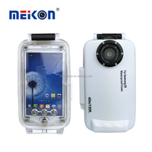 Meikon 40 m Nominale Immersione Sommergibile Professionale Subacquea Foto Video Custodia Nuoto Pelle Protettiva Case Cover per <span class=keywords><strong>Samsung</strong></span> S5