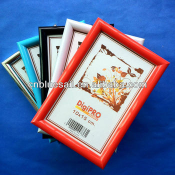colorful photo frame, BDM plastic photo frame, baby photo frame