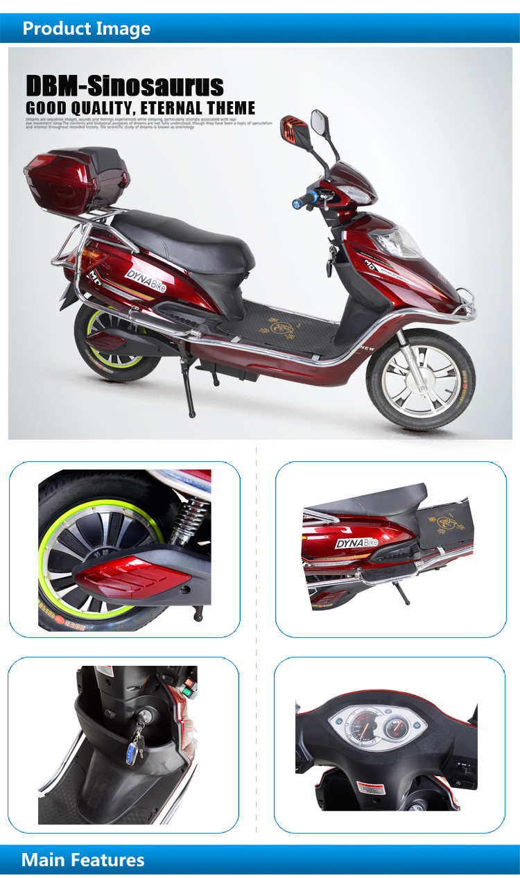 classic rechargeable storage battery big power electric motorized bicycle mopeds scooters for. Black Bedroom Furniture Sets. Home Design Ideas