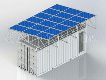 20ft Zonne Energie Container Vriezer En Chiller Buy