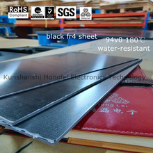 black g10 insulation laminated sheet China fr4 fireproof insulation board manufacturer