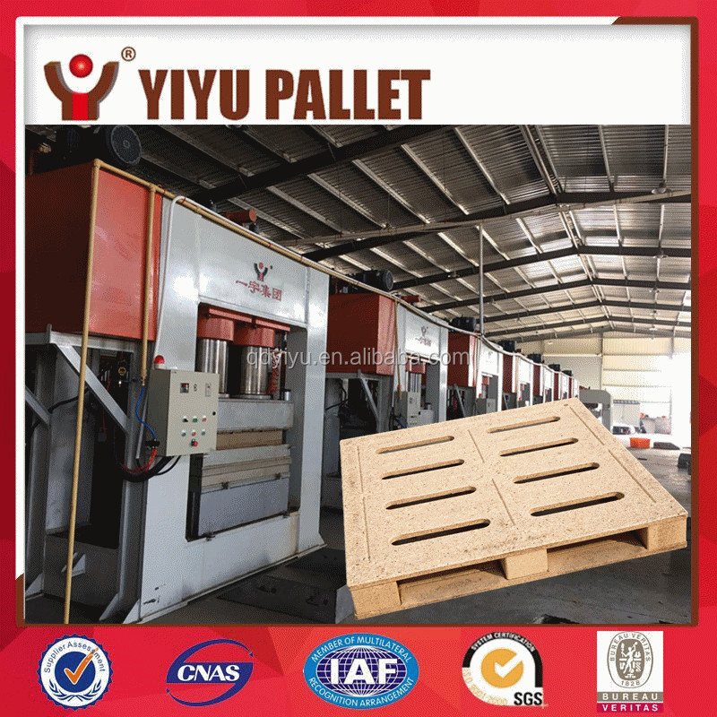 efficient semi-automatic wood pallet production line/woodworking hot press machine