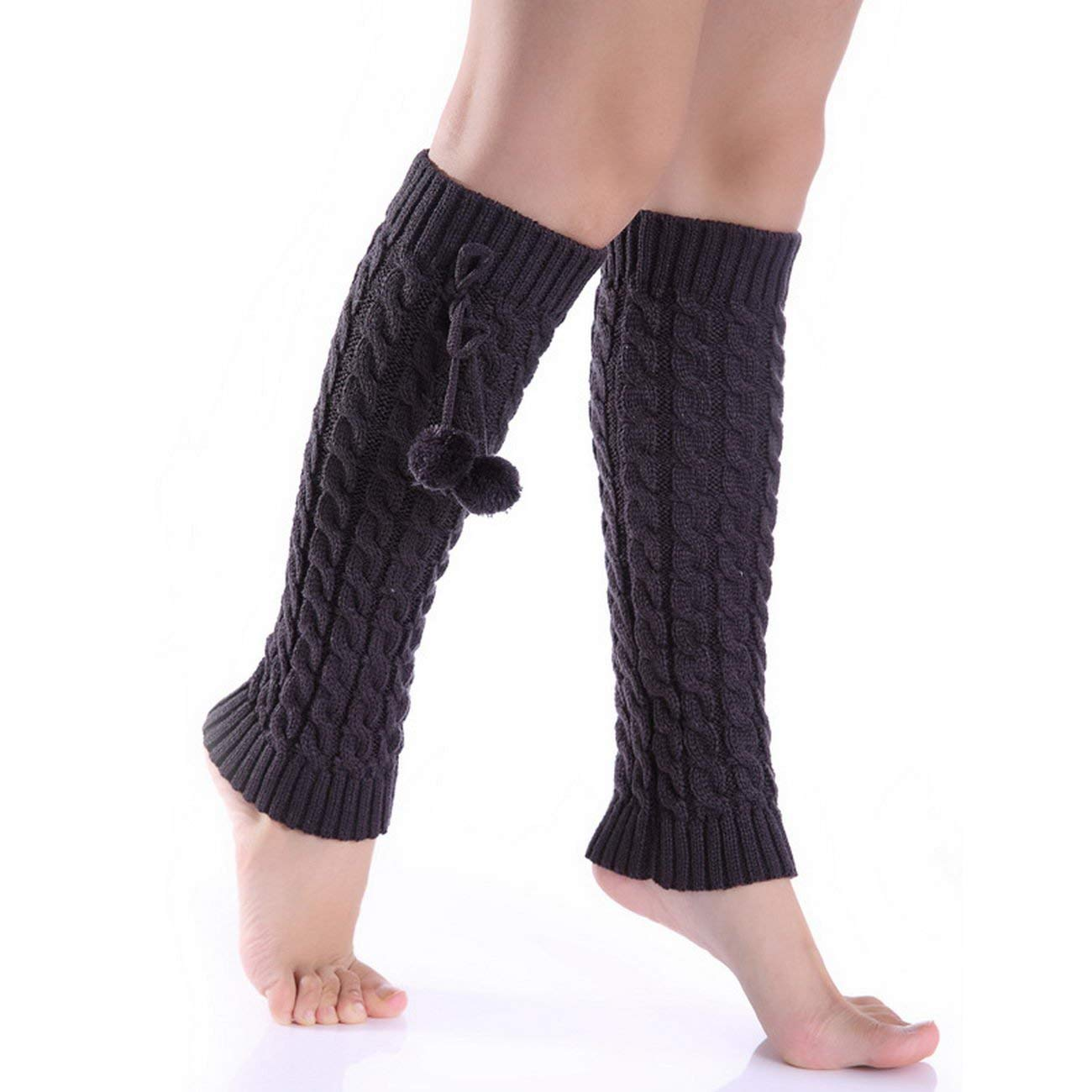 51ddbd0962 Get Quotations · KUAILEJIA ball loose socks wool socks autumn and winter  socks piles of socks leg sets leg
