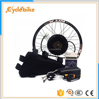 5000w 48v bicycle wheel electric bike conversion kit