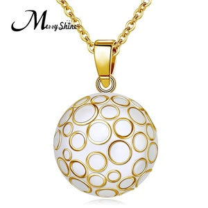 Baby Chime Fashion Belly Bola Necklace Jewelry Ball Pendants for Women Necklace Harmony Bola Ball