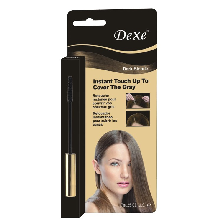 dexe cheveux coloration poudre racine des cheveux couverture racine des cheveux retouche - Retouche Coloration