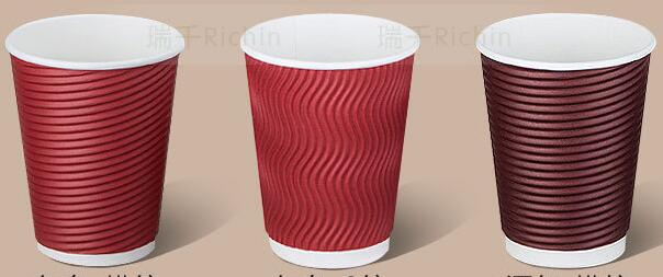 Wholesale manufacturer 2.5oz-32oz Single/Double/Ripple Wall Custom Printed Disposable Paper Cup