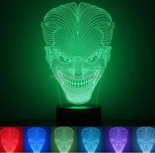 FS-3101 Dragon 3D Optical LED Illusion Lamp, FULLSUN World 7 Color Change Art Sculpture Lights Desk Table Night Light