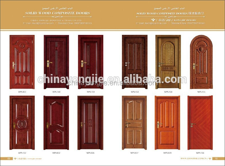 Yongjie quality interior meranti oak teak mahogany veneer for Quality door design