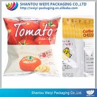Potato chip bag material/Plastic packaging bag for chips/Potato chips bag with custom logo design printing