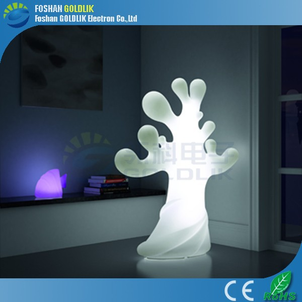 Amusement Park Decorations Remote Control LED Plant Floor Lamp