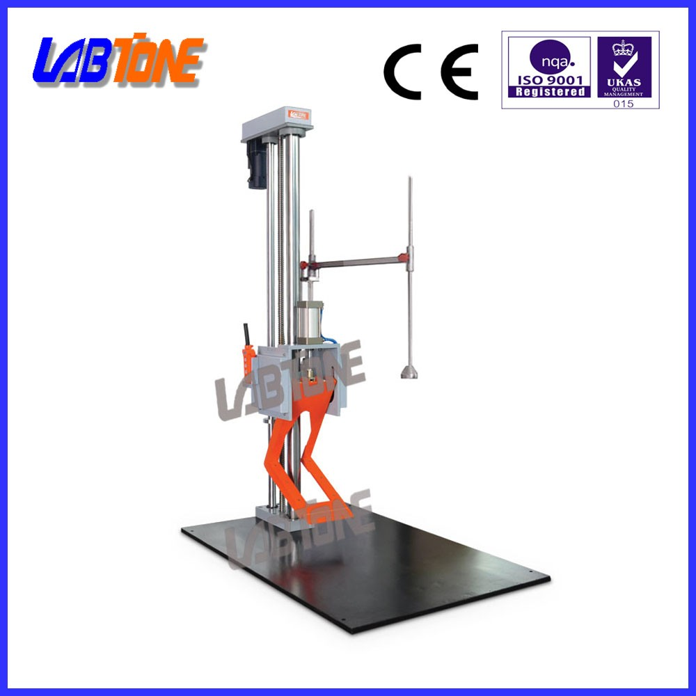 New design edge and corner drop explosion proof drop testing apparatus