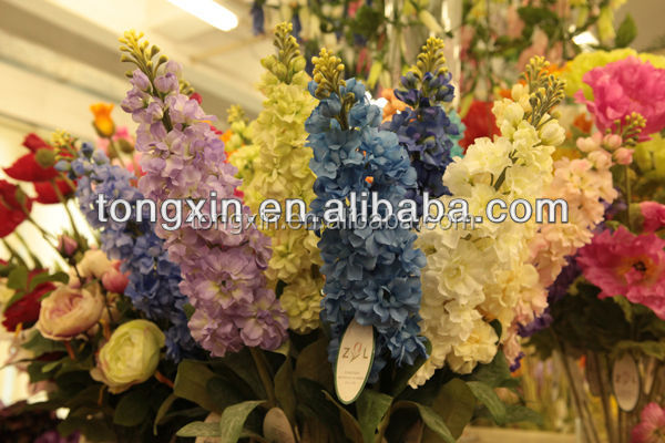 27734PN children blue violet flowers are hot sell in Guangzhou Market and cheaper than Guangzhou flower factory