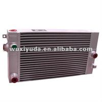 compressor oil air cooler,aluminum compressor heat exchanger,made-to-order cooler