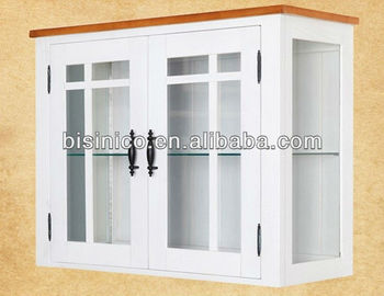 European Country Modern Style Wall Display Cupboard Cabinet Living Room Kitchen