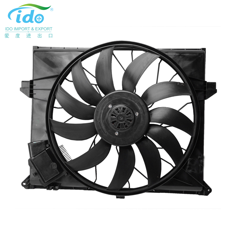 Auto parts radiator fan for mercedes benz 2007-2012 1645000093