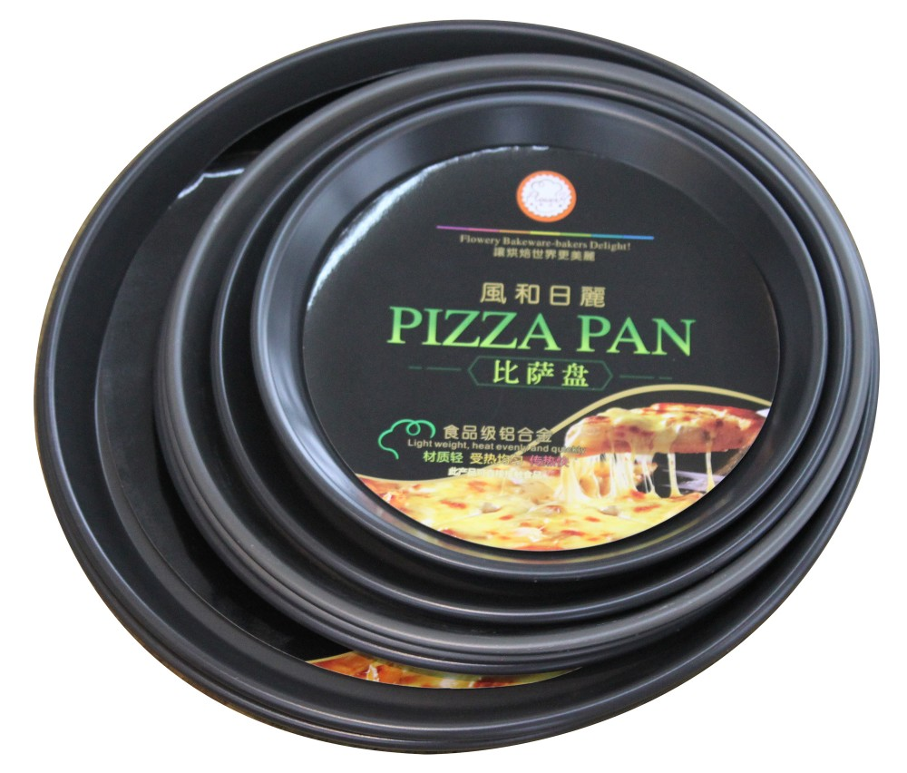 Plastik alat baking dalam piring pizza pizza pan pizza hut buatan china