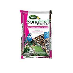 Scotts Songbird Wild Bird Food Sunflower Seeds-Mfg# 11980 - Sold As 2 Units