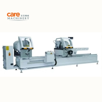 CNC Aluminium Profiel Twee Side Cutting Saw Raam Making Machine