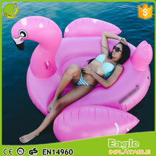 Giant Inflatable flamingo pool float non-phthalate PVC water play pool toys in stock