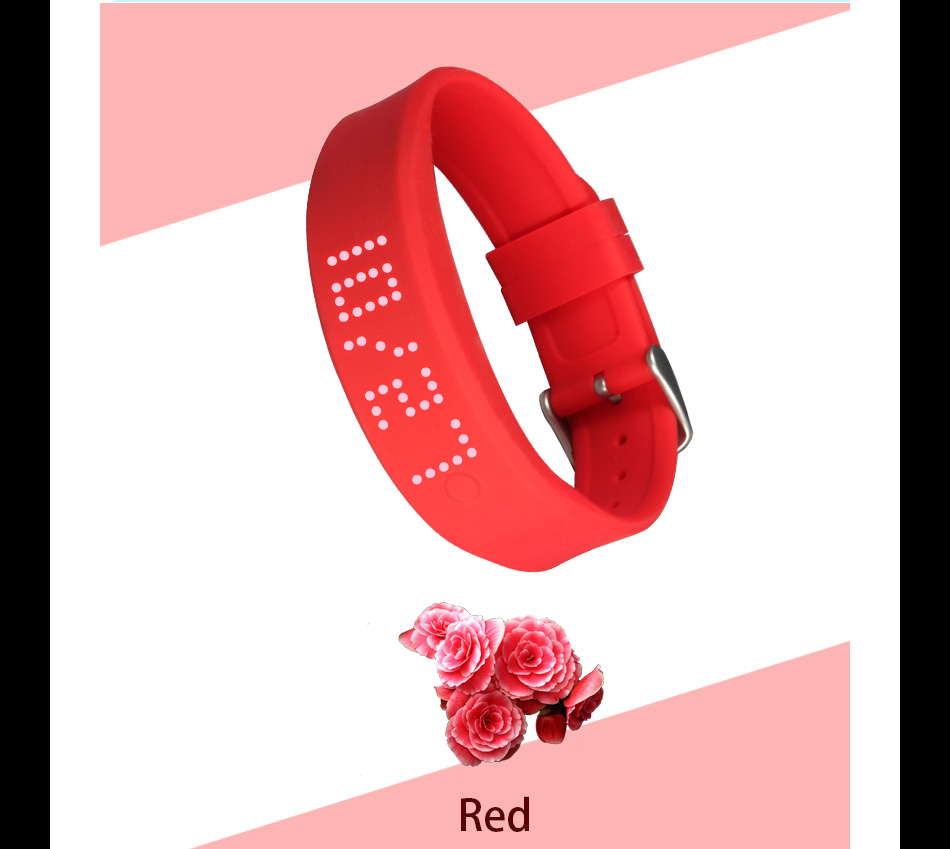 SMS\/facebook\/whatsapp reminder watch bluetooth incoming call vibrate alert bracelet