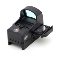 Pistols accessories 1x22 mini gun sight 800g shockproof red dot sight w/drawer battery for tactical