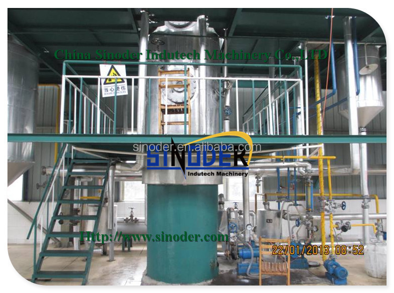 1t/d-50t/d Edible Oil Physical Refinery Mini Oil Refinery Plant ...