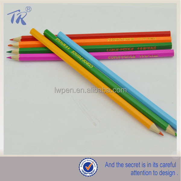 best selling color pencil small color yiwu pencil factories colored pencil