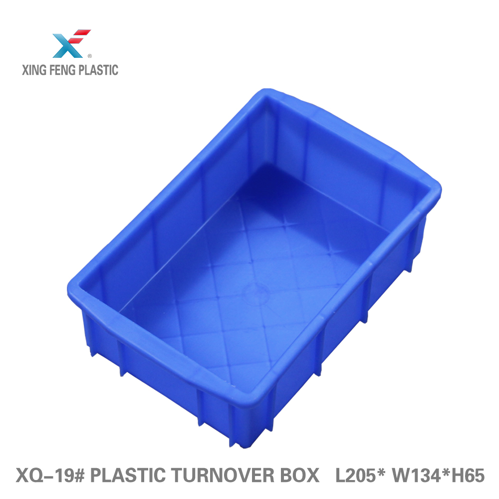 Good quality decontamination stack and nest plastic crates solid type storage container seafood