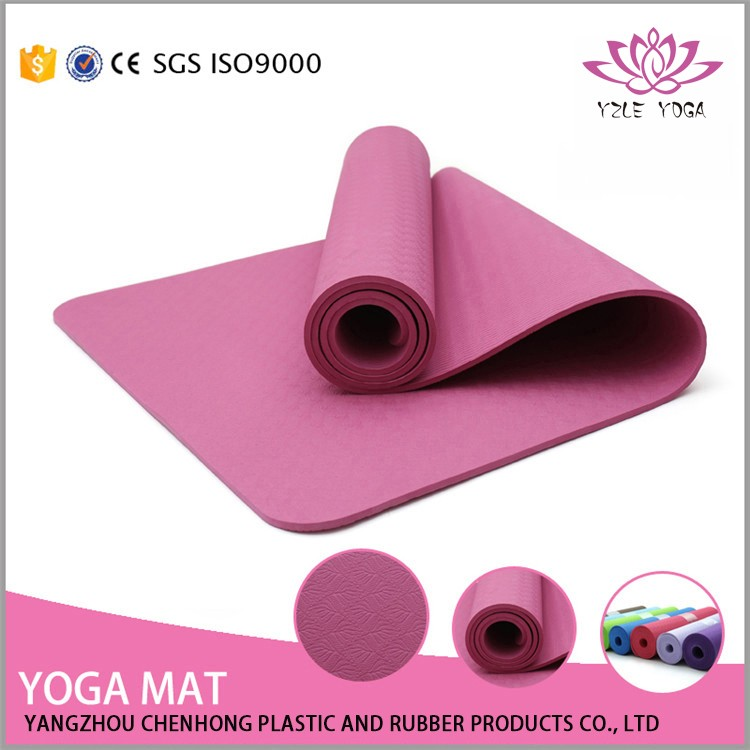 5mm Manufacturer One Layer Anti-slip Washable Gym mats for sale