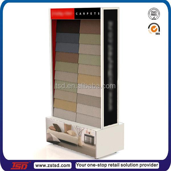 Tsd W558 Custom Retail Store Floor Carpet Display Stand