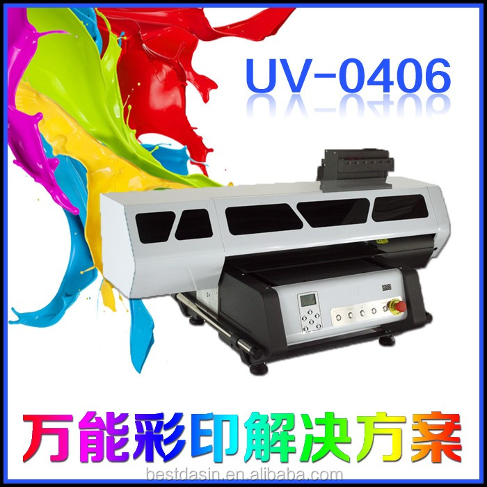 uv impresora 3D 60*40cm Printhead DX5 DX7 8 Colors CMYKWWWW 17 square meter/hour bidirection 720*1200uv printer embossing effect