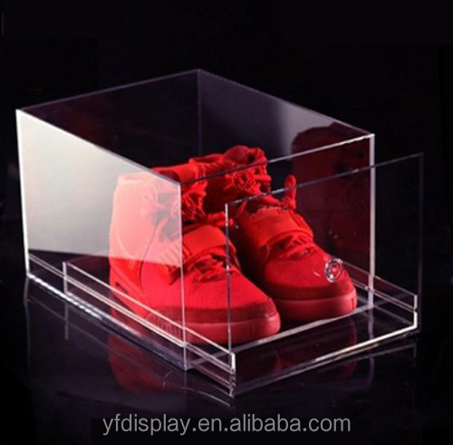Customized acrylic shoes box