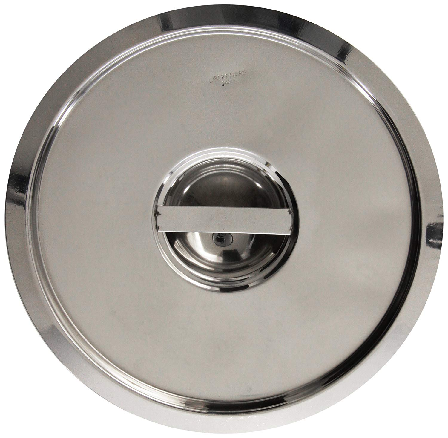 Crestware Solid Pan Cover for 8-1/4-Quart Bain Maries