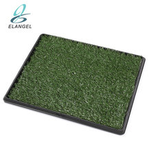 "20*25"" Portable Pet Indoor Toilet Dog/Cat Potty Patch Pet Training Potty Patch Pads Pet Toilet Mat Grass Turf Potty"