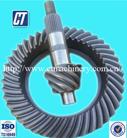 High Quality Toyota Crown Wheel Pinion Gear for Truck