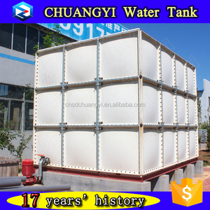 Hot selling in Korea grp water storage tank for sale