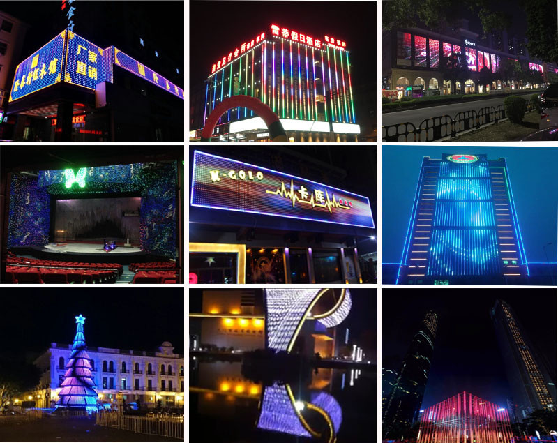 Newly Special Design DC5V 20MM LED Amusement Pixel Lights
