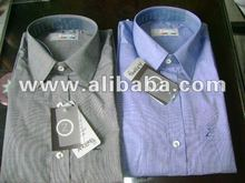 formal solid and stripes cotton shirts