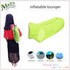 Outdoor inflatable lounger nylon camping beach air sofa waterproof fabric hangout inflatable chair with carry bag