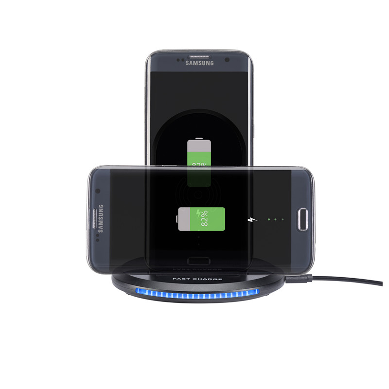 New U8 Multi-function Fast Charging Foldable Qi Wireless Charger for Power Supply