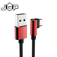 Right Angle USB C cord/type-c charging data sync braided cable
