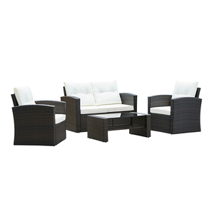 Leisure Outdoor Furniture Patio Rattan Sofa Set