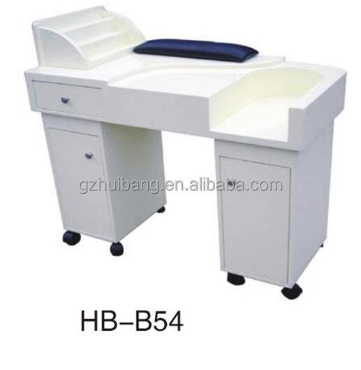 Modern White Manicure Nail Desk / Nail Table Sale Cheap Hb-b55 - Buy ...