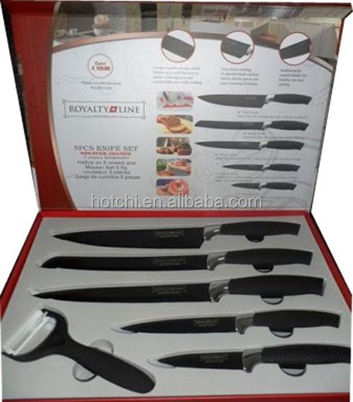 Royalty line set de cuchillos suizos l nea cuchillo juegos - Set de cuchillos royalty line ...