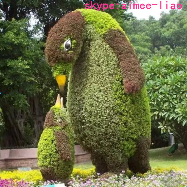 How To Make Topiary Animals Part - 26: Q121013 Wire Topiary Frames Animal Hing Simulation Artificial Animal Topiary