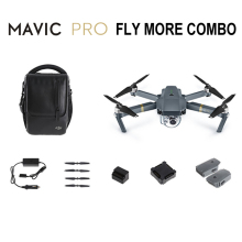 DJI Mavic Pro Fly More Combo with extra batteries and bag