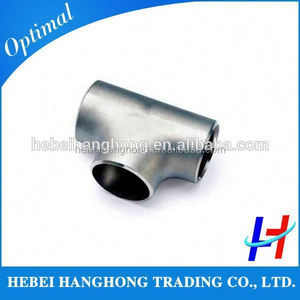 Trade Assurance Supplier Stainless steel Fabricated pipe tee