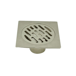 Bathroom accessory 4 inch stainless steel floor drain trap for bathroom&kitchen