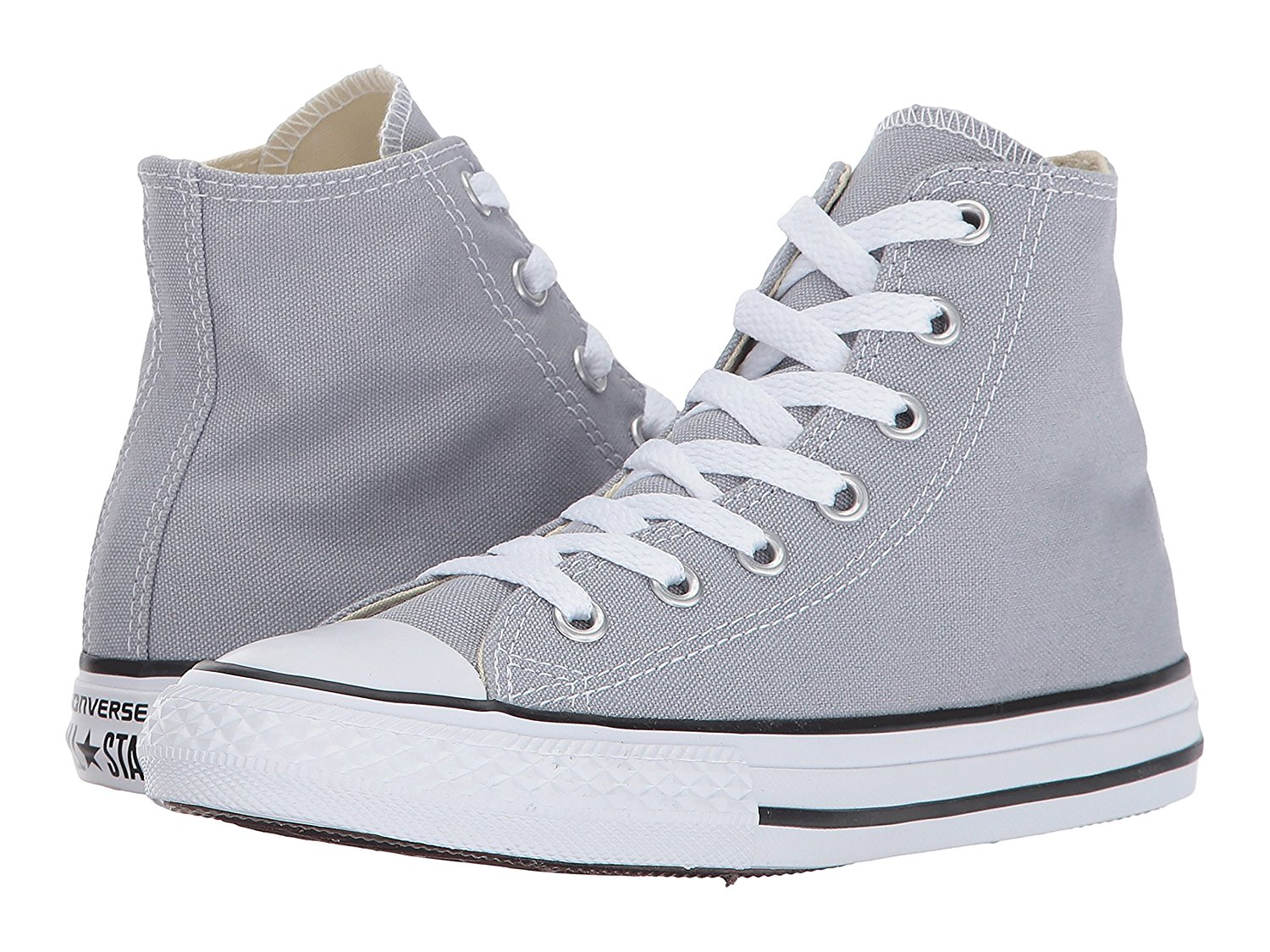 8d97045f7be6 Get Quotations · Converse Kids  Chuck Taylor All Star High Top Little Kid  Wolf Grey Kids Shoes